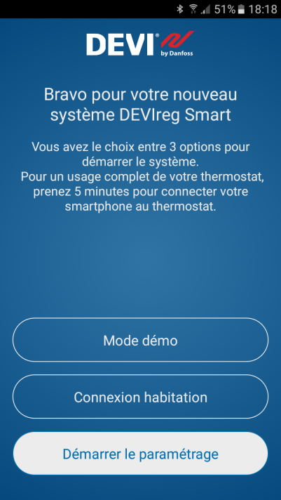 201 Le DEVIreg Smart, un thermostat connecté par Deleage / Danfoss