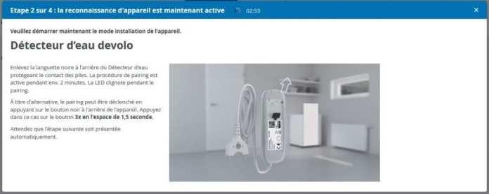 09-1 Test du détecteur d'eau de la gamme Home Control de chez Devolo