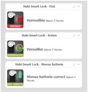 12-1 Intégration de la Nuki Smart Lock dans Eedomus