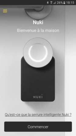 16-1 Test de la serrure connectée Nuki Smart Lock