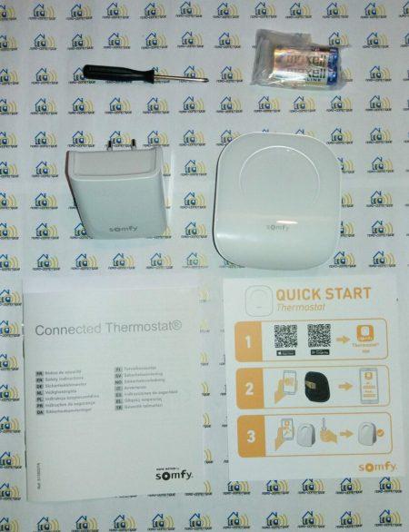 05 Test du thermostat connecté filaire Somfy