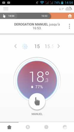 30 Test du thermostat connecté filaire Somfy