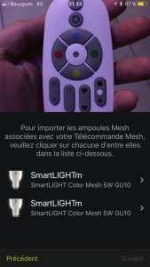 Awox-SmartLight-Mesh_7373-169x300 Test des ampoules Led basse consommation Smartlight Mesh GU10