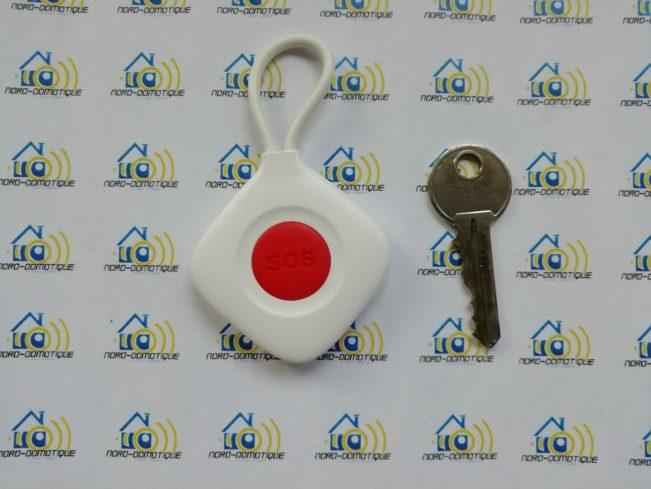 07 Découverte du clavier, des badges RFID et du bouton d'urgence pour l'alarme Avosdim Serenity