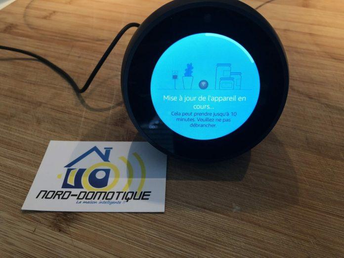 amazon-echo-spot-4235-1000x750 [Test] Echo Spot d'Amazon, la petite boule tactile connectée