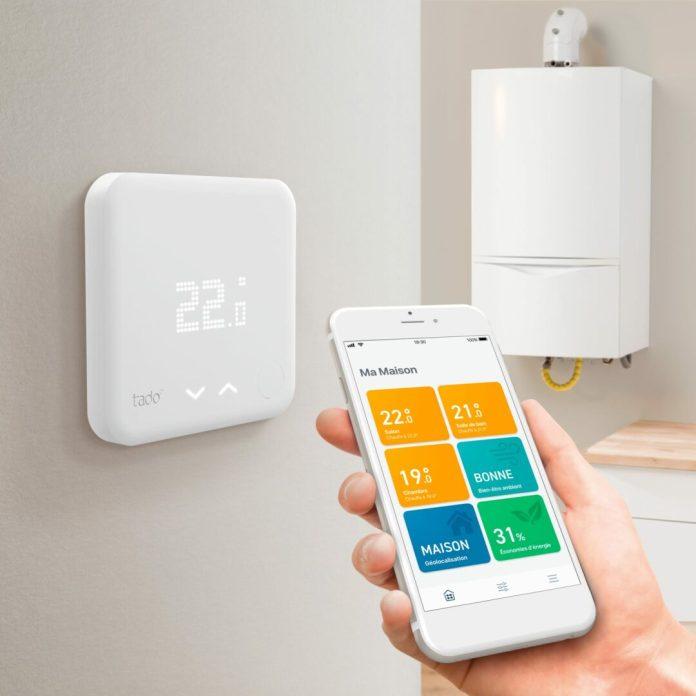 tado-thermostat-intelligent-and-boiler-1000x1000 Tado° lève 38 millions d'euros et annonce un partenariat avec Noventic