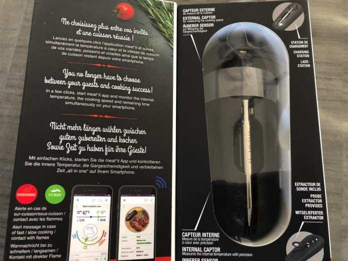 meat-it-0836 Test de Meat°it la première sonde de cuisson 100% sans fil