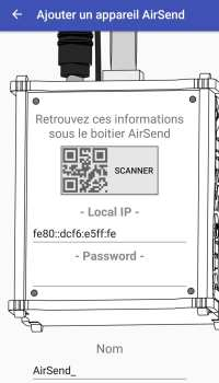 6-qrcodeairsend-200x350 Test de la solution domotique Airsend de chez Devmel