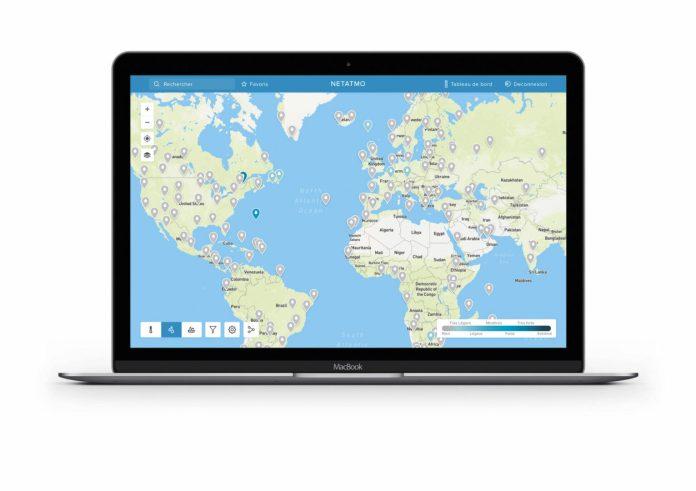 netatmo-3-1000x705 Partir en week-end à la dernière minute devient simple avec la Weathermap Netatmo