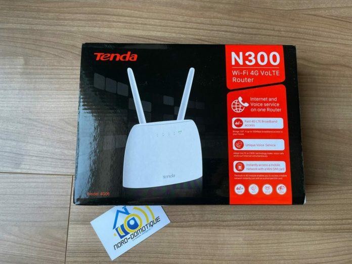 Test du routeur Tenda N300 Wi-Fi 4G