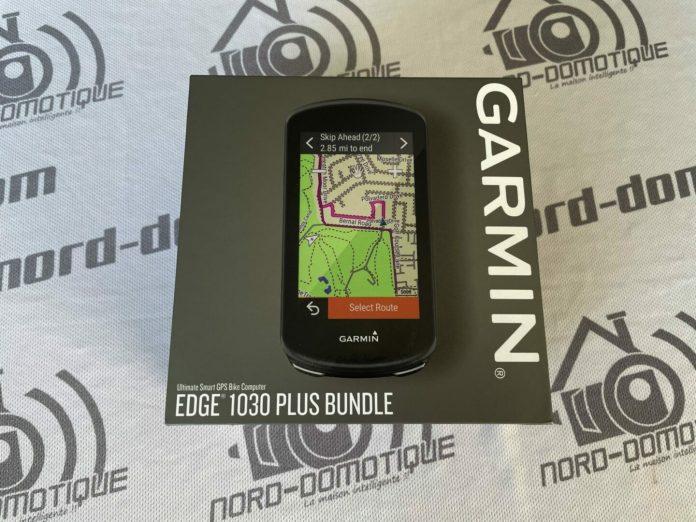 Test du Garmin GPS EDGE 1030 Plus