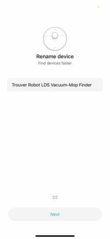 trouver-robot-lds-vacuum-mop-finder-0052 Test du robot Xiaomi Trouver Finder LDS