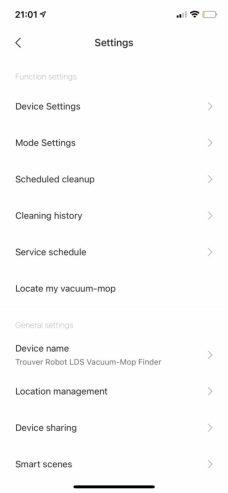 trouver-robot-lds-vacuum-mop-finder-0055 Test du robot Xiaomi Trouver Finder LDS