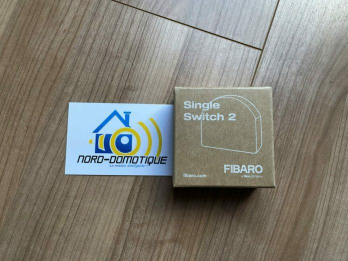 Test du Fibaro single switch FGS213 avec la Home center 3