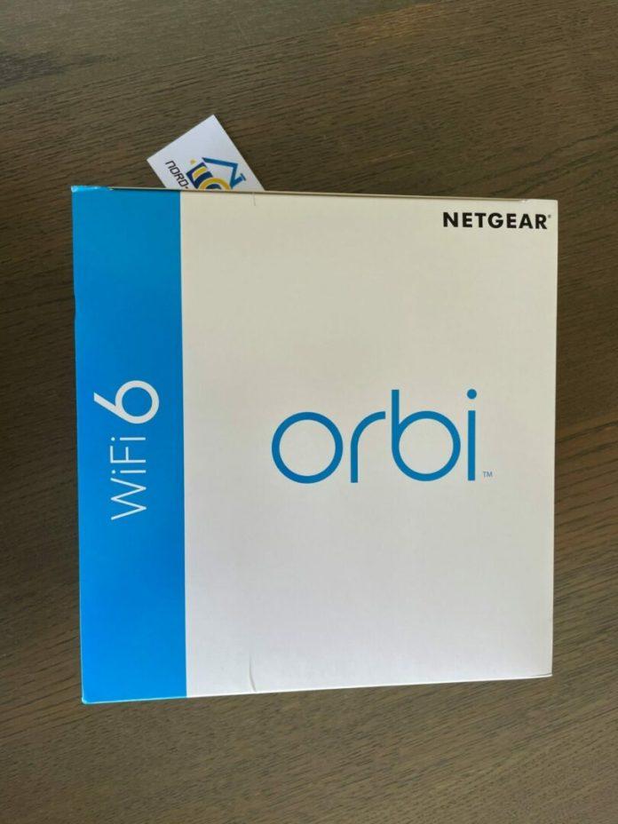 Kit Orbi RBK 352 Système mesh en test sur notre blog