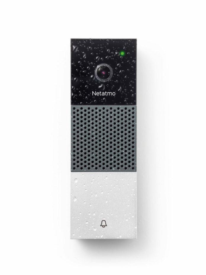 netatmo-sonnette-rain-web-750x1000 La Sonnette Vidéo Intelligente Netatmo est compatible avec les assistants vocaux