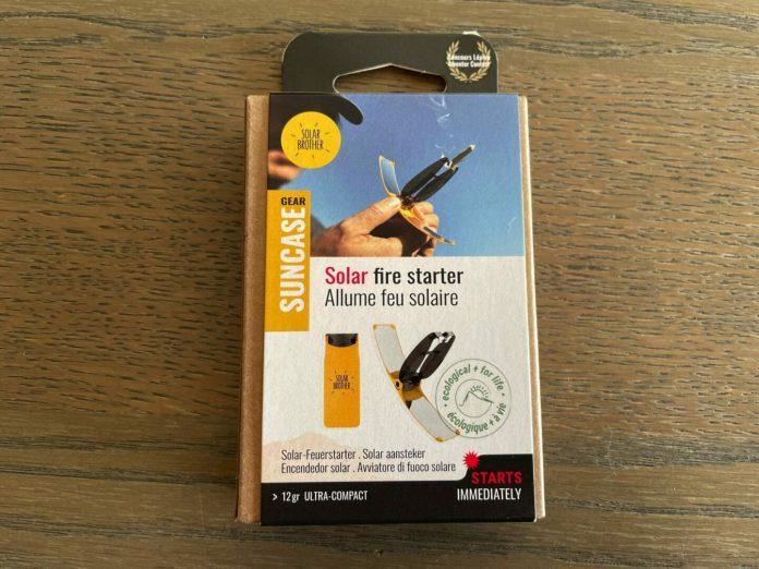 Test Suncase Gear®, l'allume-feu solaire astucieux !