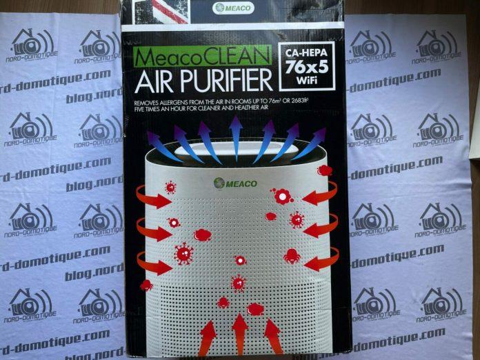 Test du MeacoCLEAN Air purifier
