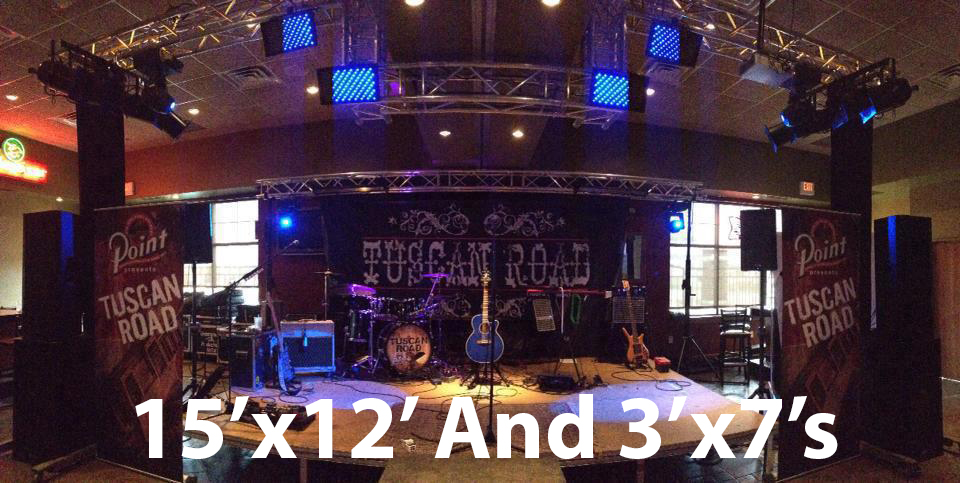 Size Considerations For Band Backdrops And Band Scrims