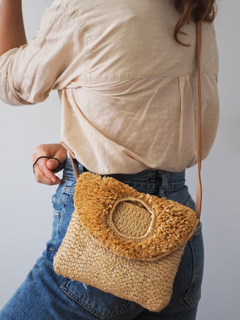 Punch Needle purse by Rose Pearlman