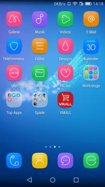 EMUI 3.1: Apps