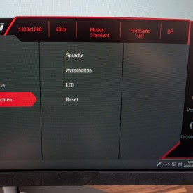 MSI Optix MAG24C Settings