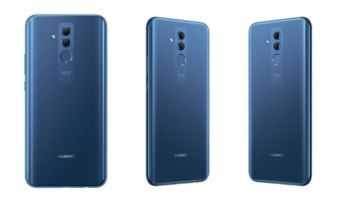 Mate 20 lite_Back Blue