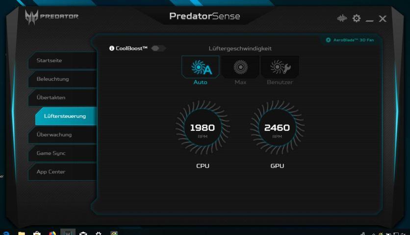 Acer Predator Helios 300 Sense