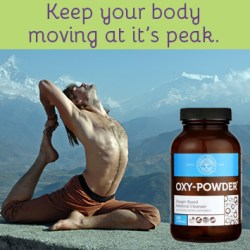 Keep your body moving at it's peak.