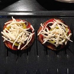 Keto-friendly, grain-free jicama pizza ready for the oven.