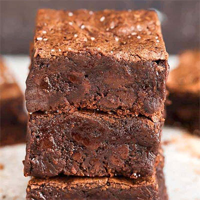 An image of keto brownies —a mouth-watering keto dessert recipe for the holidays