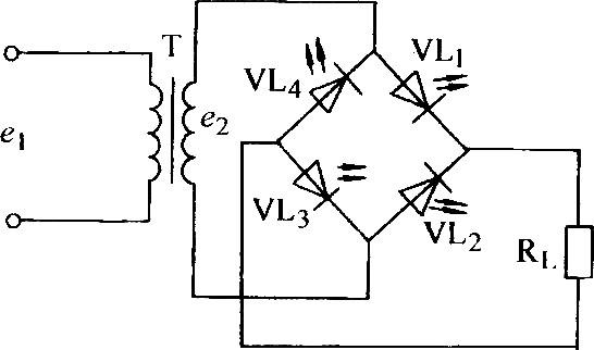 Usando LED como diodo Retificador