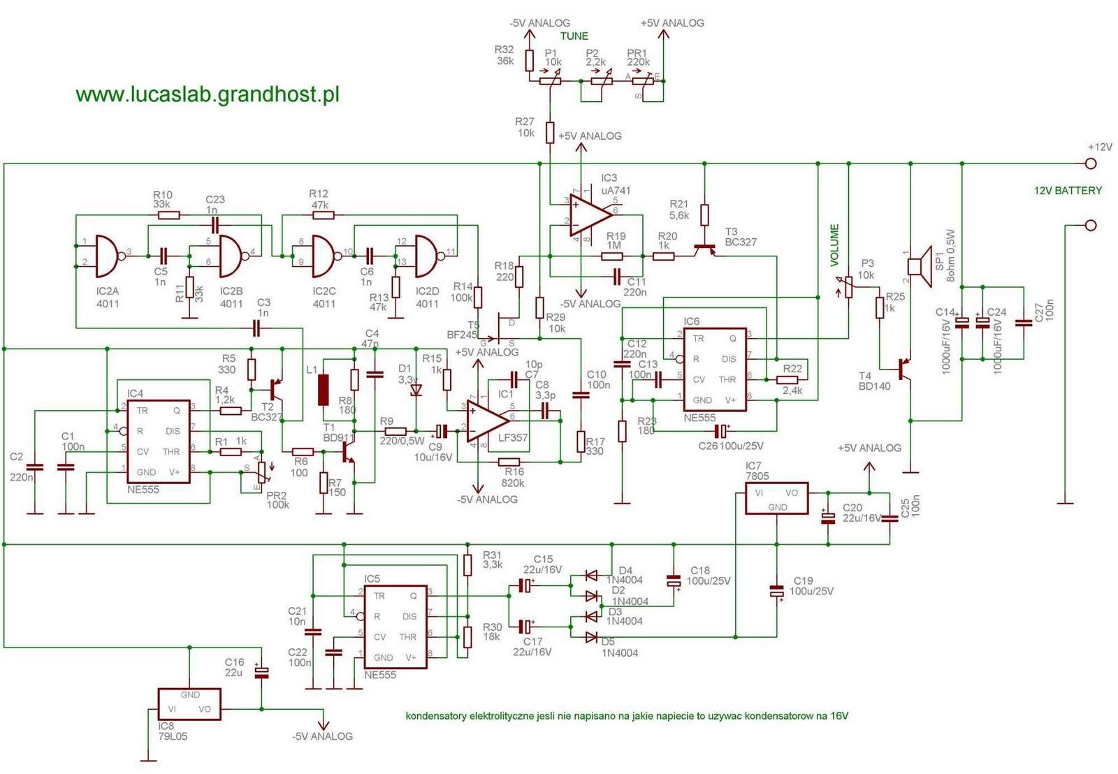 gold detector circuit diagram international tractor 674 wiring pi polish build your metal