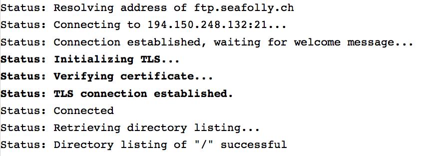 Manchmal braucht man einen FTP Server