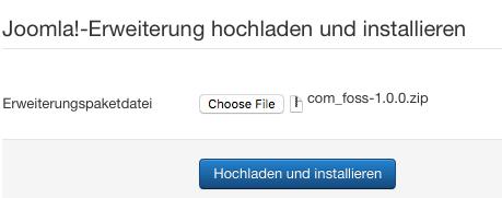 com_foss-1.0.0.zip installieren