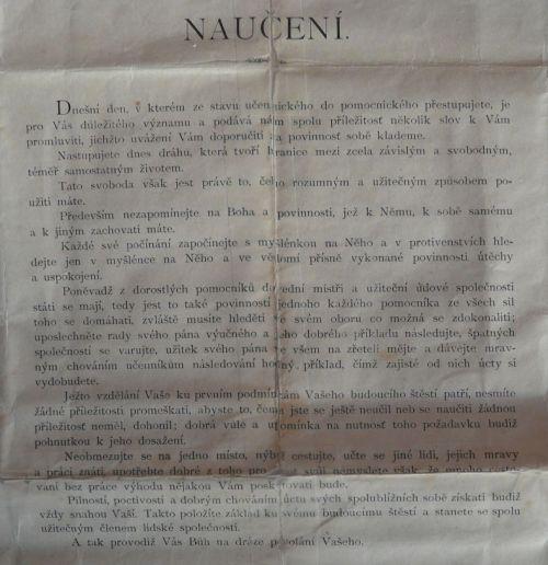 Naučení r. 1890