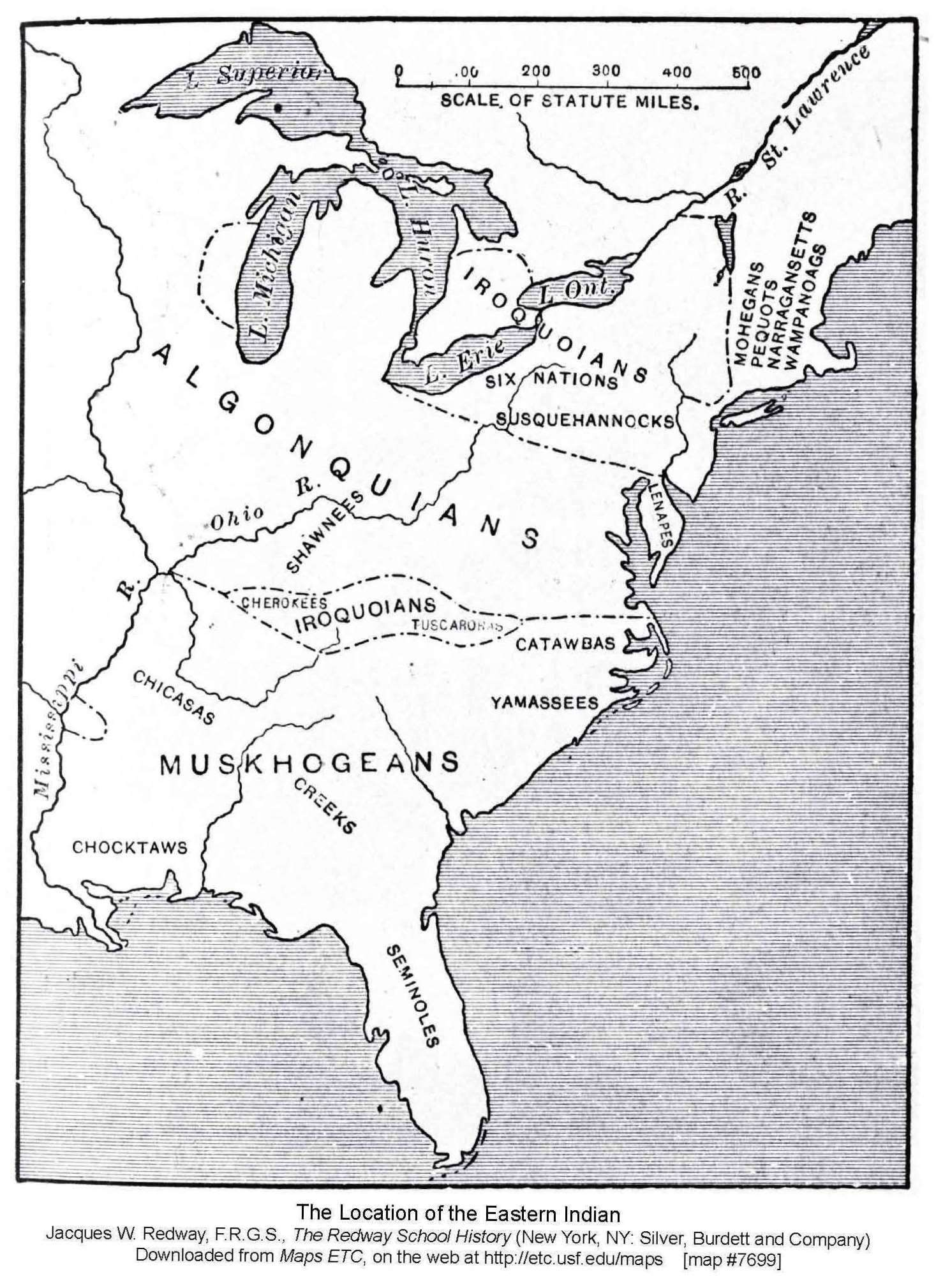 Eastern Tribes
