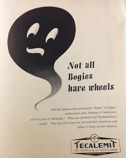 Not all Bogies have wheels', Diesel Railway Traction Gazette, 1952. NRM Ref: ALS2/95/D/7