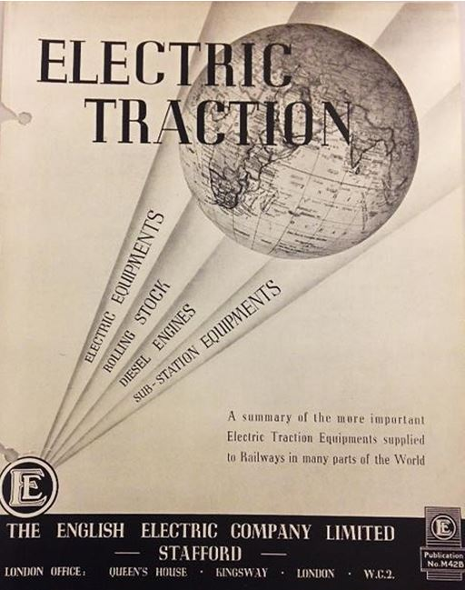 Electric Traction Equipment, English Electric Company Publication, No. M42B. NRM Ref: ALS2/95/E/3