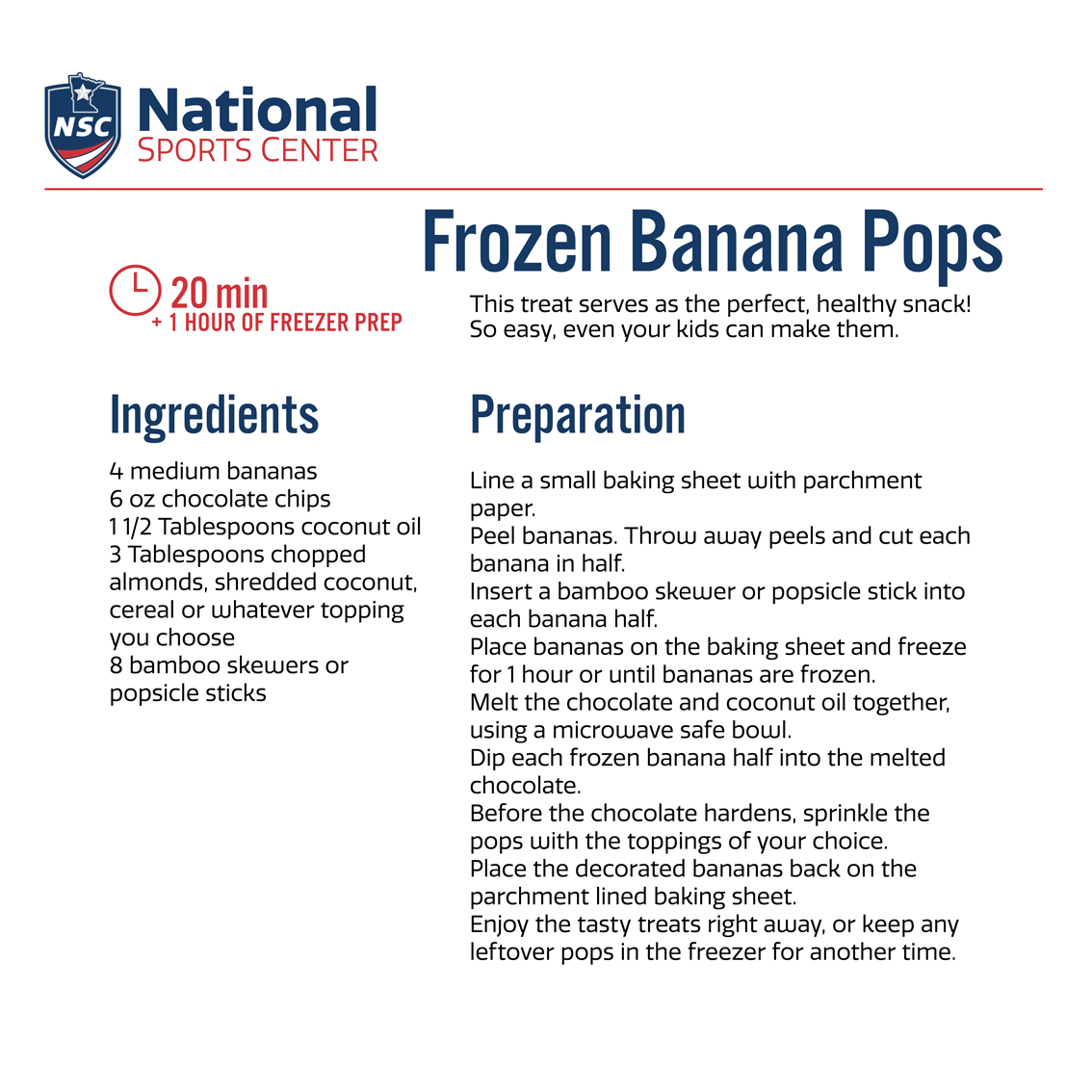 recipe nsc cookbook banana pops