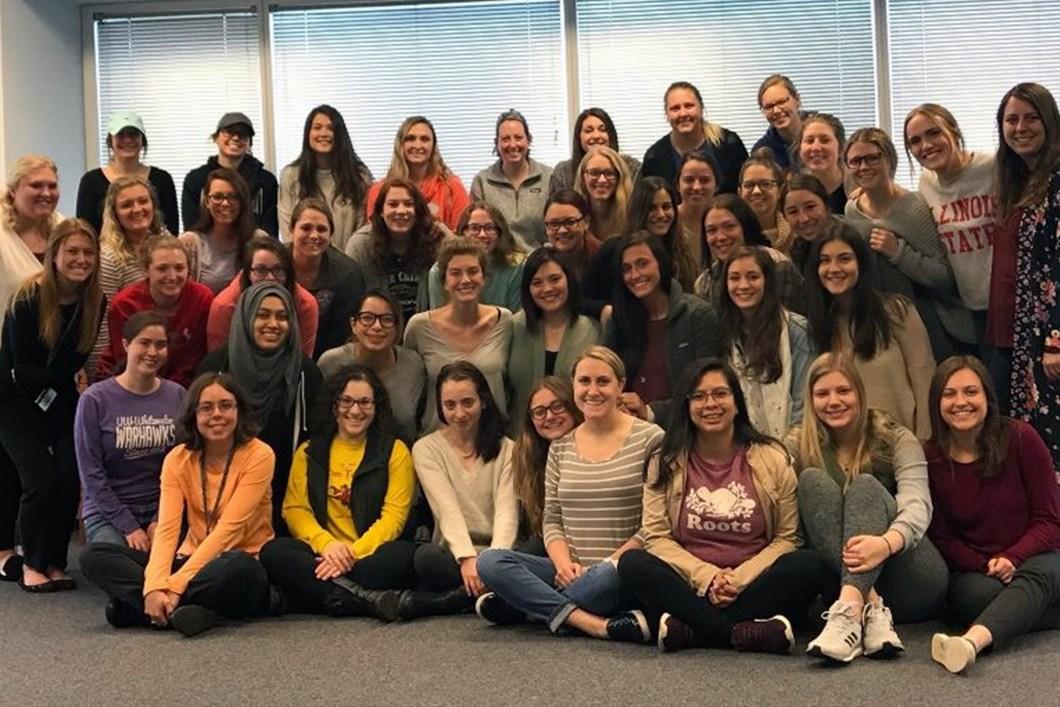 Midwestern University NSSLHA Chapter Members