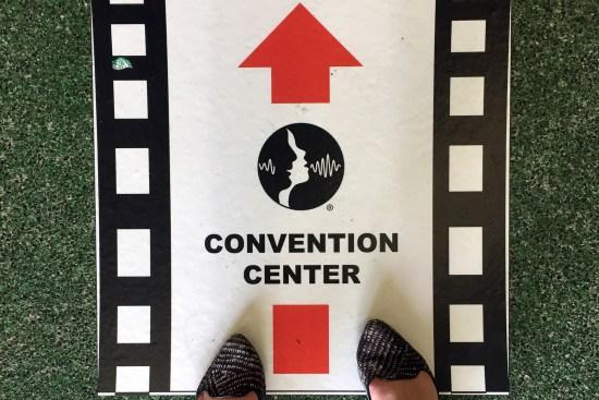 ASHA Convention Signage