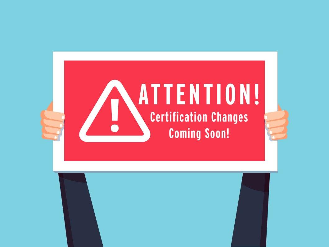 ASHA's 2020 Certification Standard Changes
