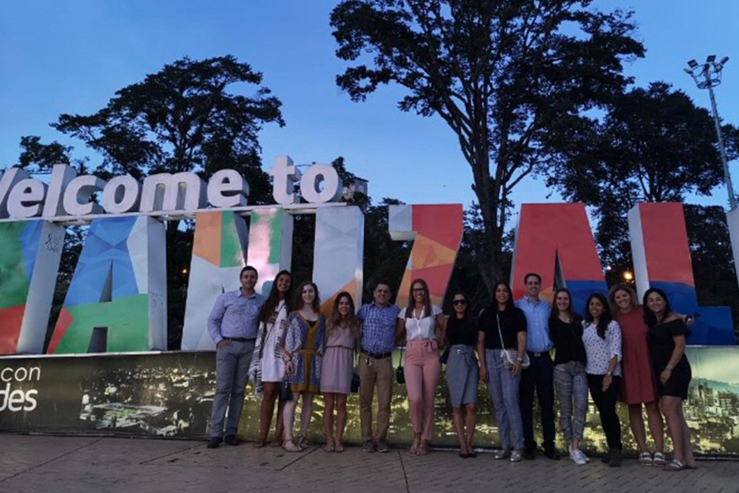 LIU, Brooklyn, graduate SLP students experiencing a clinical rotation abroad in Manizales, Columbia.