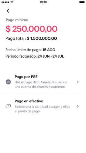 Pago en efectivo con la app de Nu en miles de comercios en todo el país