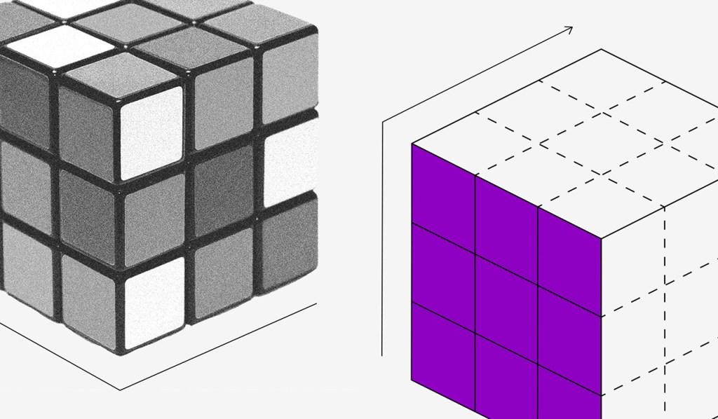 Fintech: ilustração mostra cubo mágico