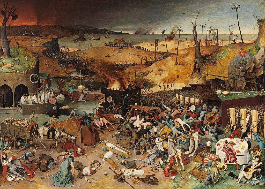 Qual a maior pandemia do mundo: pintura Triunfo da Morte, de Pieter Bruegel
