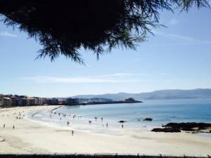 Sanxenxo (Sangenjo) - Playa de Silgar - Rías Baixas - Galicia
