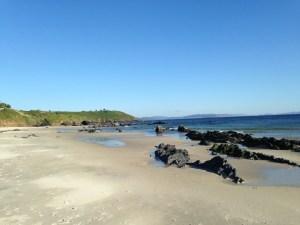 Playa de Pragueira en Sanxenxo