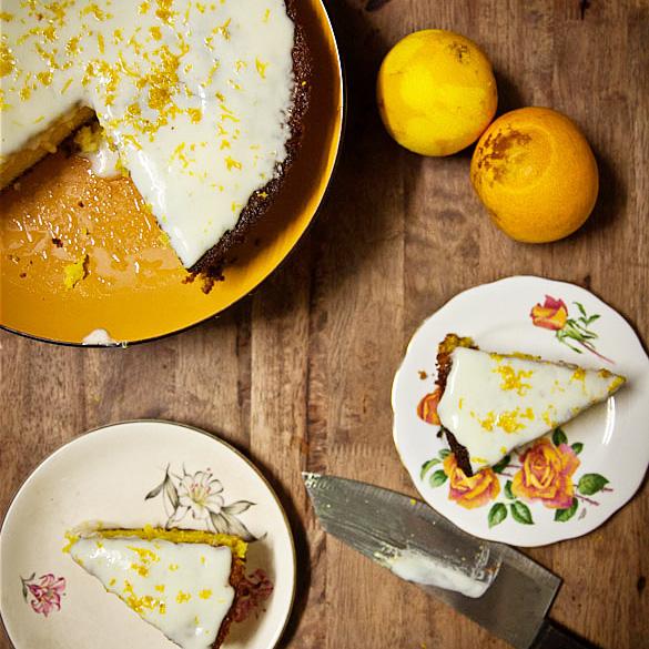 Orange Turmeric Gluten Free Cake // Strayed Table